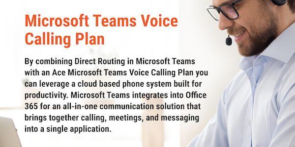 Microsoft Teams Voice Calling Plan